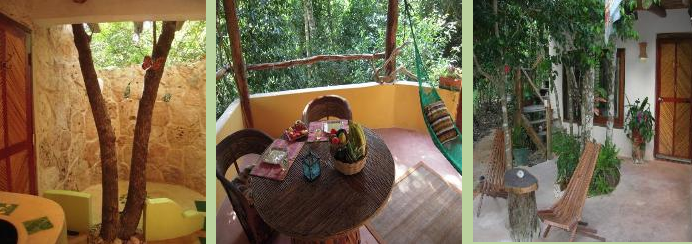 La Selva Mariposa, a charming Bed & Breaksfast in the Tulum jungle