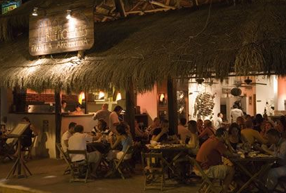 El Curandero, the best bar at the Tulum town