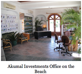 Akumal Investments Real Estate, an experienced player in Tulum Real Estate