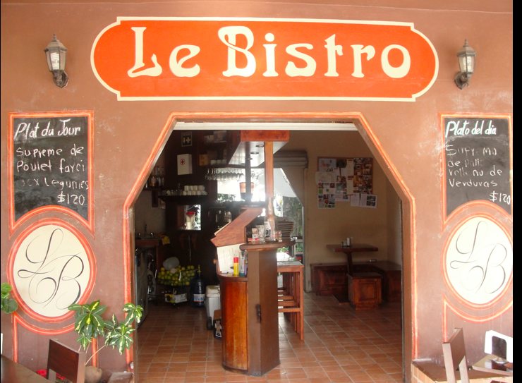 Le Bistro, best french restaurant in Tulum