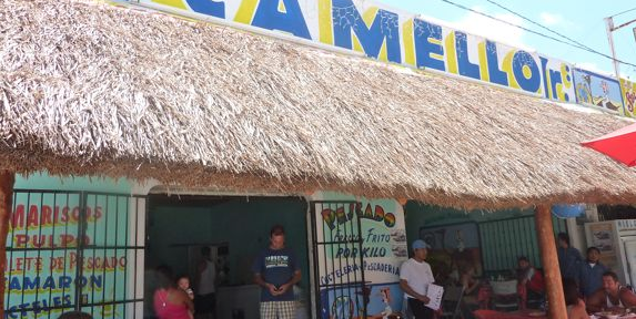best sea food restaurant in tulum mexico el camello jr