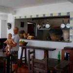 alessandro carozzino getting Posada Marguerita restaurant ready baja
