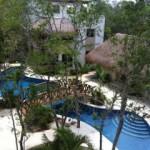 tulum condo pool view