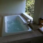 Zama Village Tulum condo for rent main suite private jacuzzi