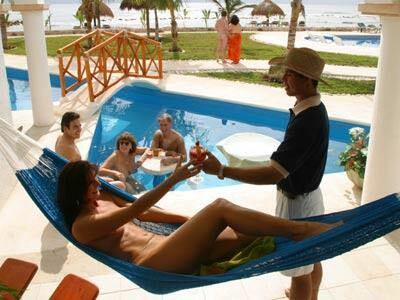 hidden beach hotel tulum nudista swinger naturista